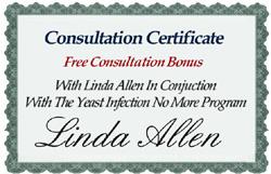 Certificate_Linda Allen